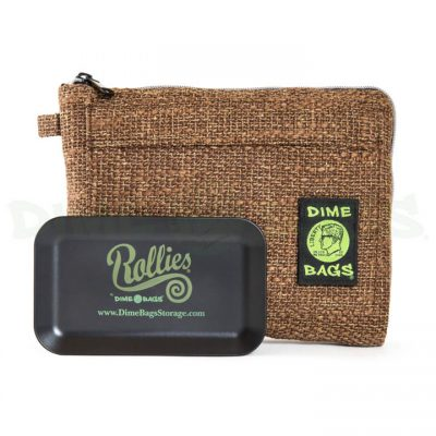 Dime Bags 10in Rollies Pouch Brown