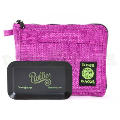 Dime Bags 10in Rollies Pouch Magenta