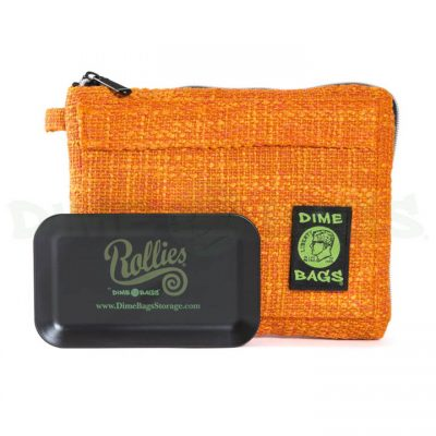 Dime Bags 10in Rollies Pouch Orange