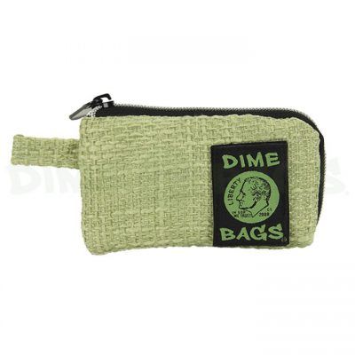 Dime Bags 5in padded pouch green