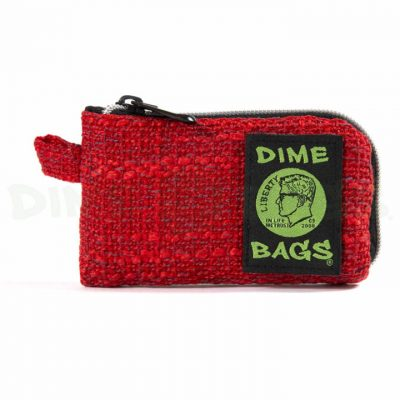 Dime Bags 5in padded pouch red