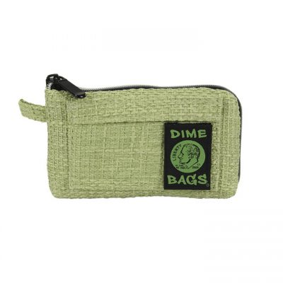 Dime Bags 7in Padded Pouch green