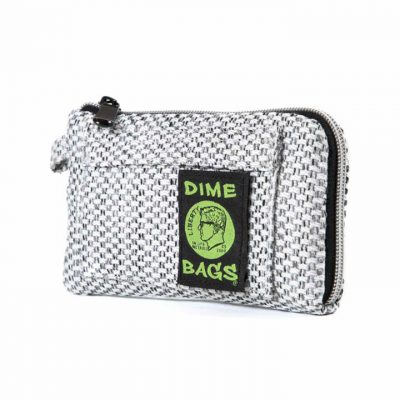 Dime Bags 7in Padded Pouch silver