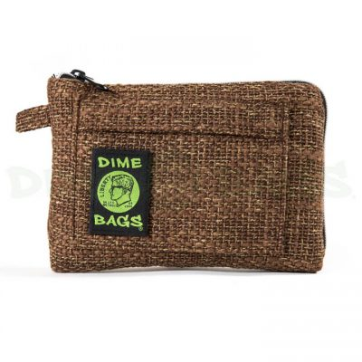 Dime Bags 8in padded pouch Brown