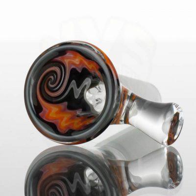 Koji-Glass-Worked-Slids-14mm-Grey-Black-Red-Orange-Yellow-1