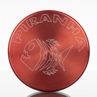 Piranha-2.5in-2pc-Grinder-Red-863034