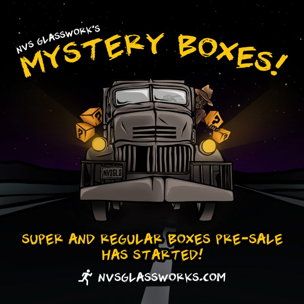 NVS Glassworks Mystery Box Pre-Sale live now!