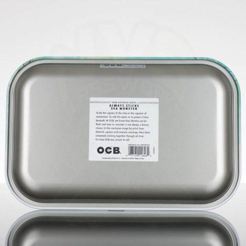 OCB Medium Rolling Tray - Always Sticks Sea Monster