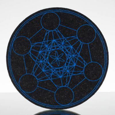 8in Circle Moodmat - Metatron