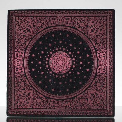 12in Square Moodmat - Garnet Carpet (UV)