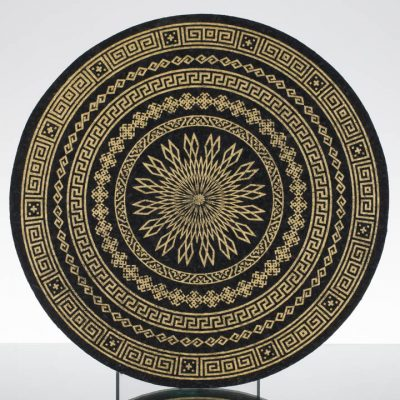 12in Circle Moodmat - Gold Antique (UV)