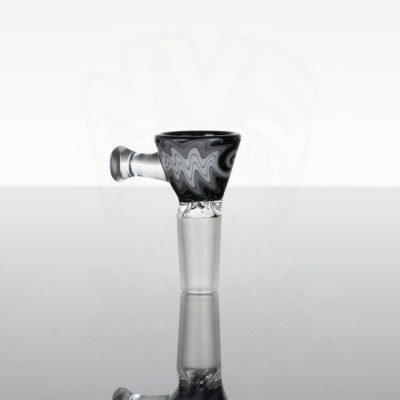 Koji Glass Worked Slide 14mm- Black - Grey - White