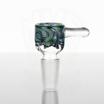 Liberty Worked Tini 14mm Slide - Green - Blue - Silver - White