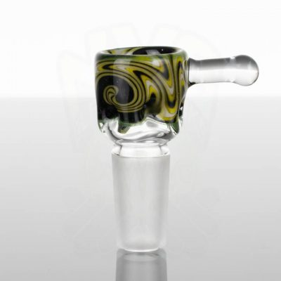 Liberty Worked Tini 14mm Slide - Sparkle - Black - Yellow - White