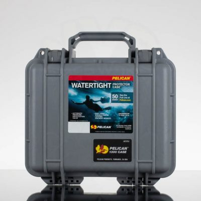 Pelican 1300 Case - Grey