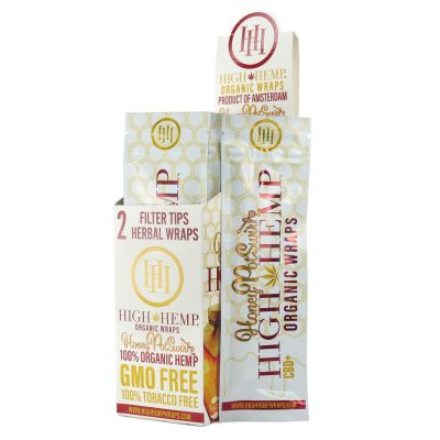 High Hemp Wraps - Honey Potswirl
