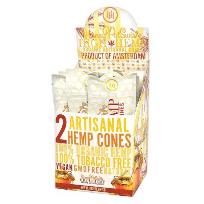 High Hemp Organic Cones - Honey Pot Swirl