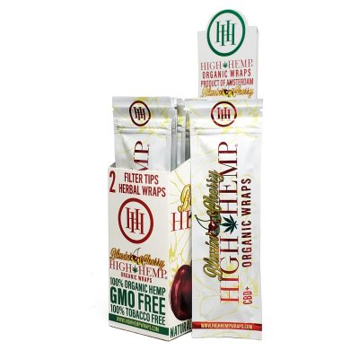 High Hemp wraps - Blazing Cherry