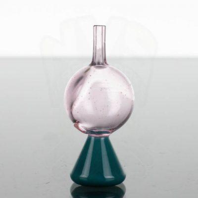 ABMP Glass Bubble Cap - Aqua Azul Pink