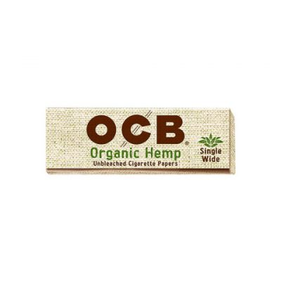 OCB Organic Hemp Paper Single Wide
