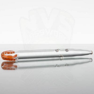 Cool Creations Dab Straw - Orange Scribble