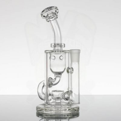 FatBoy Glass - Mini Klein clear - Seeds Perc