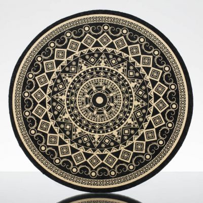 12in Circle Moodmat - Sand Antique (UV)