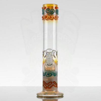 MIO Wavy Straight - Orange Teal Swirls