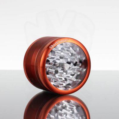 """SharpStone 2.5"""" 4pc Glass Top - Orange"""