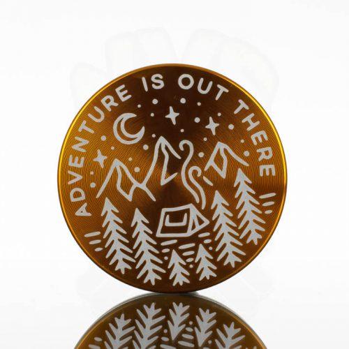 Tahoe 2.5in 2pc Grinder - Adventure Gold