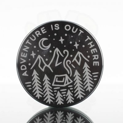 Tahoe 2.5in 2pc Grinder - Adventure Silver
