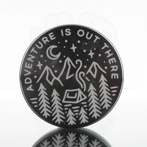 Tahoe 2.5in 2pc Grinder - Adventure Silver