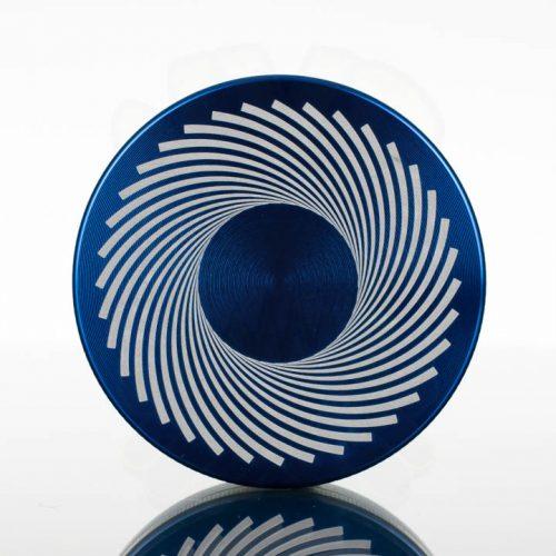 Tahoe 2.5in 2pc Grinder - Black Hole Blue