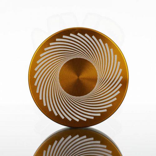 Tahoe 2.5in 2pc Grinder - Black Hole Gold