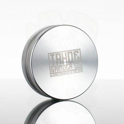 Tahoe 2.5in 2pc Grinder - Silver