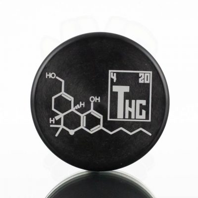 Tahoe 2pc Puck Grinder - THC Molecule