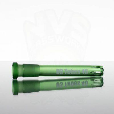"US Tubes 45 4.5"" 14-18mm Downstem - Green"