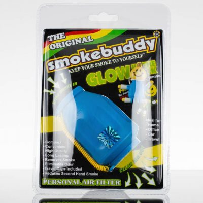 SmokeBuddy - Blue Glow in the Dark