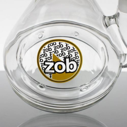 ZOB 19in Stemless Zobello - Yellow Black Oval