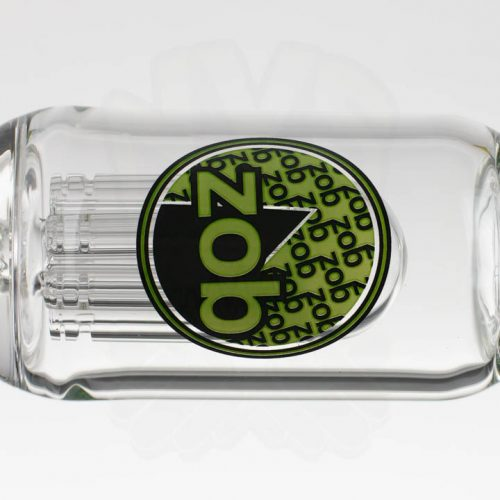 ZOB 20.5in Stemless 8 Arm - Green Black Oval