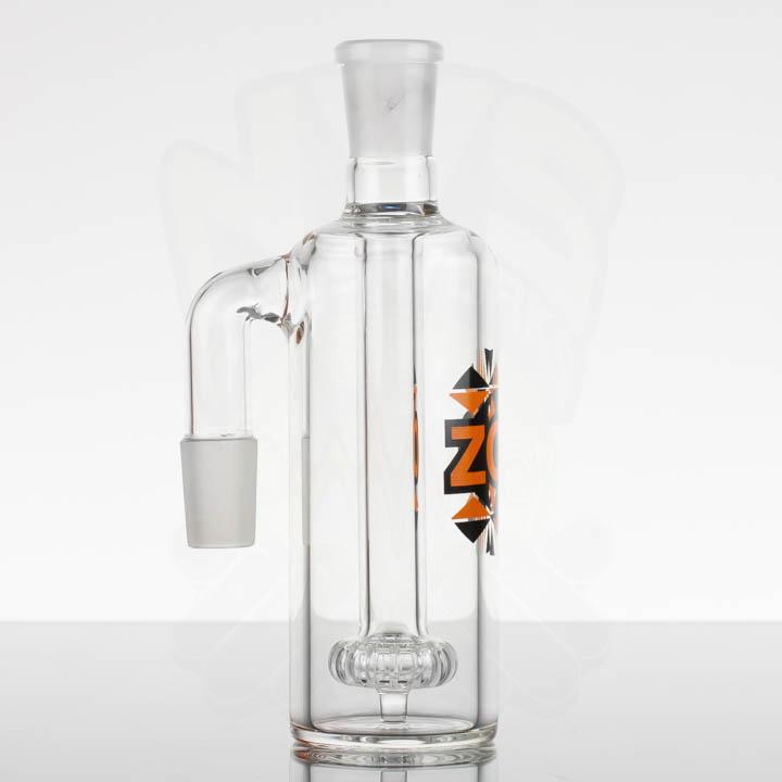 ZOB Circ AC 18mm 90 - Orange Black Triangles - NVS Glassworks