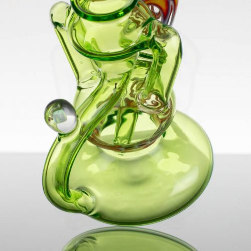 "Dizzy 7"" Dual Uptake Recycler - Worked Green"