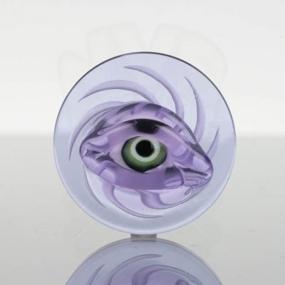Harold Ludeman Eyeball Channel Cap - Purple Blue
