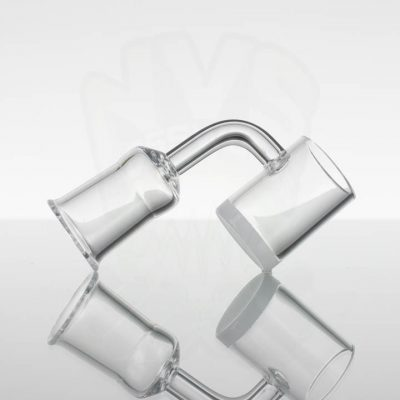 Generic Quartz Banger 25mm Opaque Bottom - 90deg 18mm Female