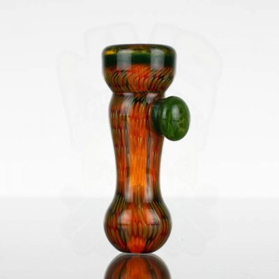 Firekist Chillum - Medium - Amber