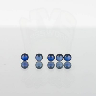 Ruby Pearl Co - Blue Sapphire Pearls 3mm