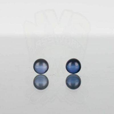 Ruby Pearl Co - Blue Sapphire Pearls 5mm - 2 pack