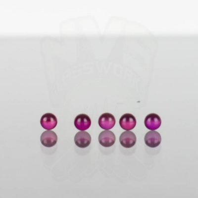 Ruby Pearl Co - Ruby Pearls 3mm - 5 pack