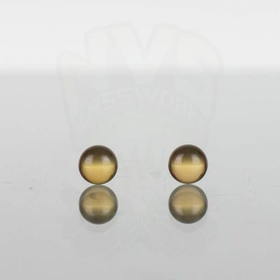 Ruby Pearl Co - Yellow Sapphire Pearls 5mm - 2 pack