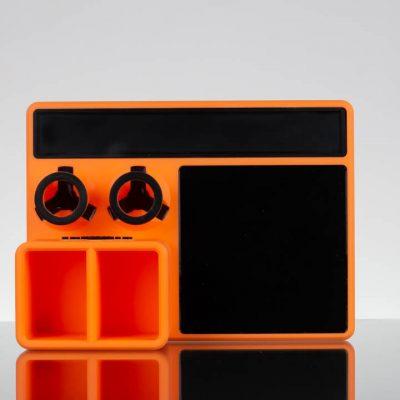 Glob Mob Mini Dab Tray - Orange Black